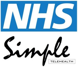 NHS Simple Telehealth logo