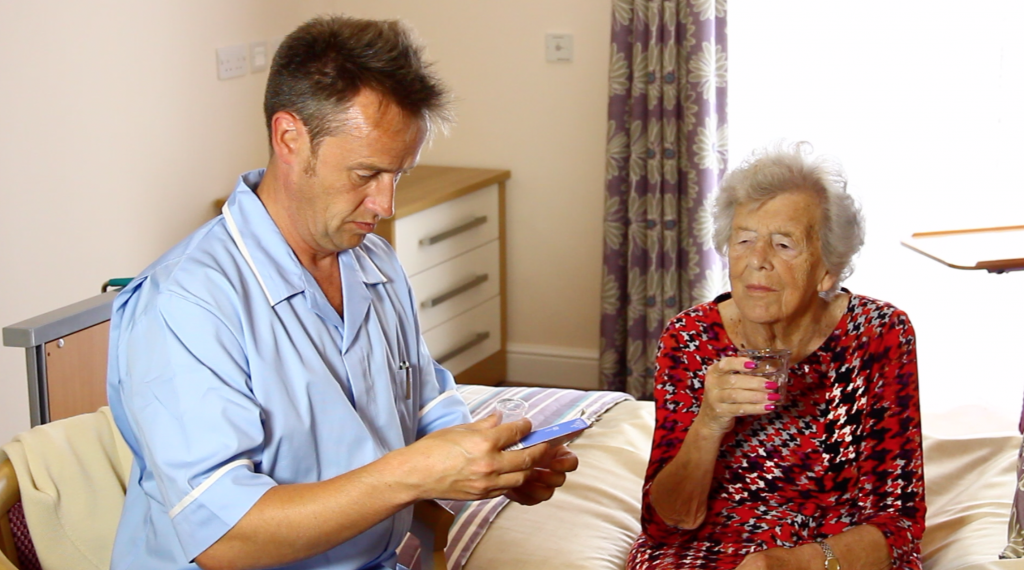 staff training in care homes